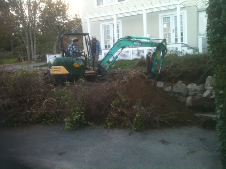 Backhoe magic