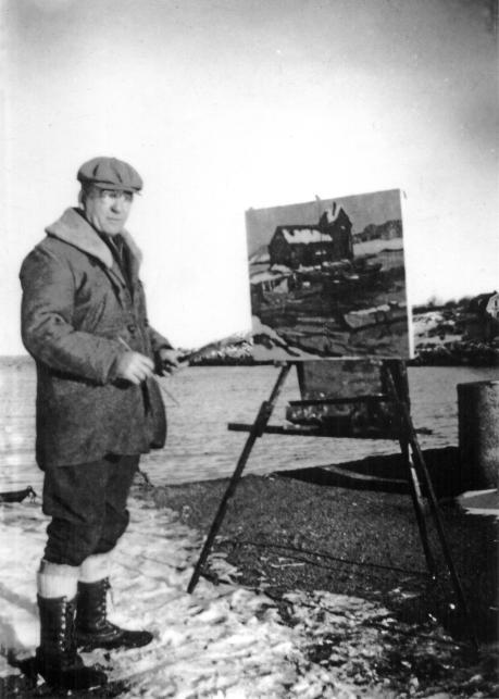 Artist John D. Buckley